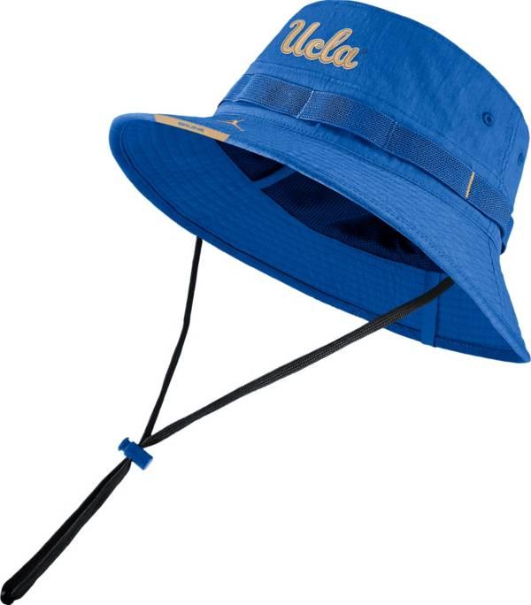 Jordan Men's UCLA Bruins True Blue Dri-FIT Football Sideline Bucket Hat product image