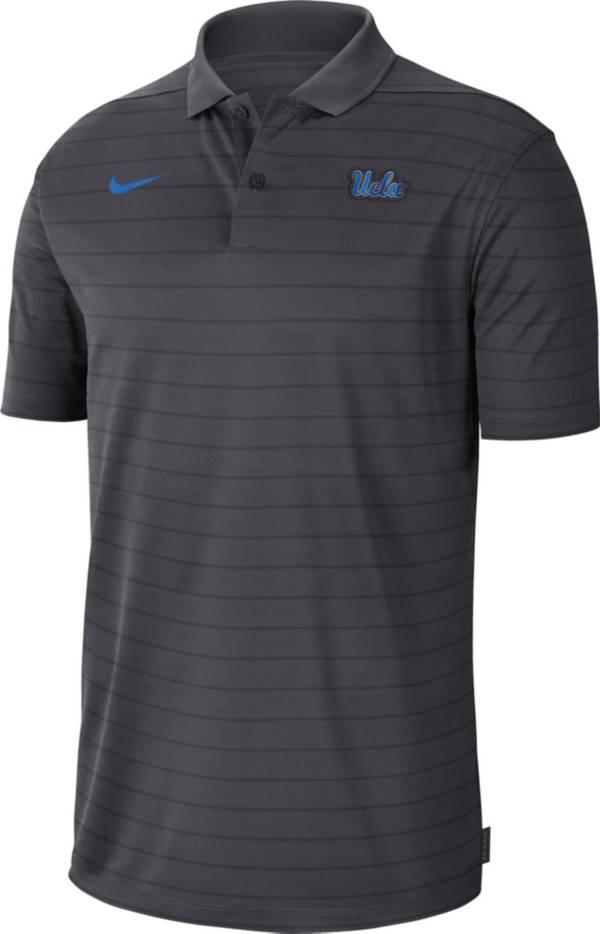 Nike Men's UCLA Bruins Grey Football Sideline Victory Polo product image