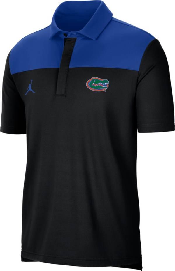 Jordan Men's Florida Gators Elevated Team Issue Black Polo product image