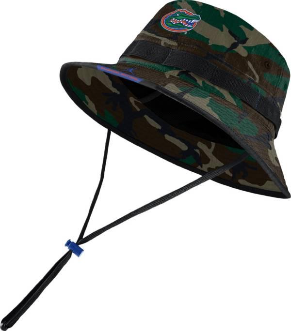 Jordan Men's Florida Gators Camo Dri-FIT Football Sideline Bucket Hat product image