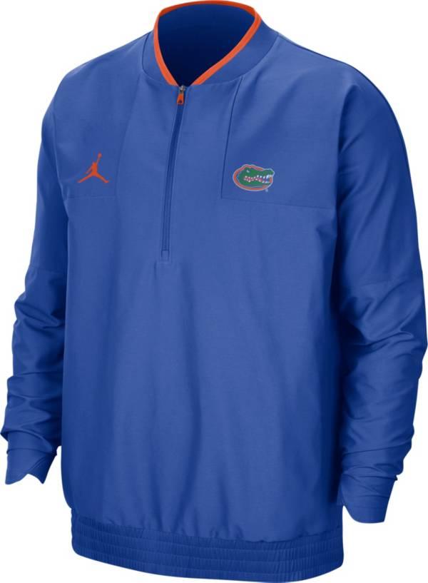 Jordan Men's Florida Gators Blue Football Sideline Coach Lightweight Jacket product image