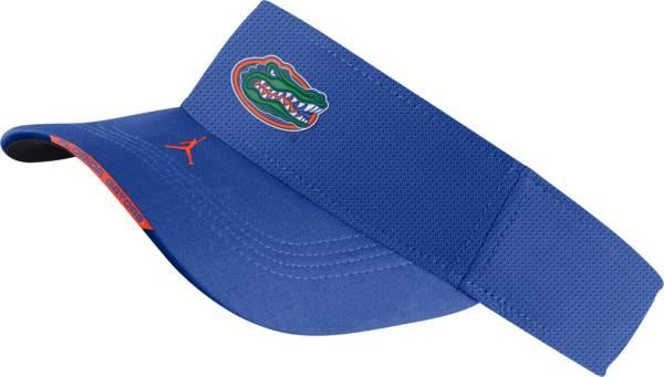 Jordan Men's Florida Gators Blue Aero Football Sideline Visor product image