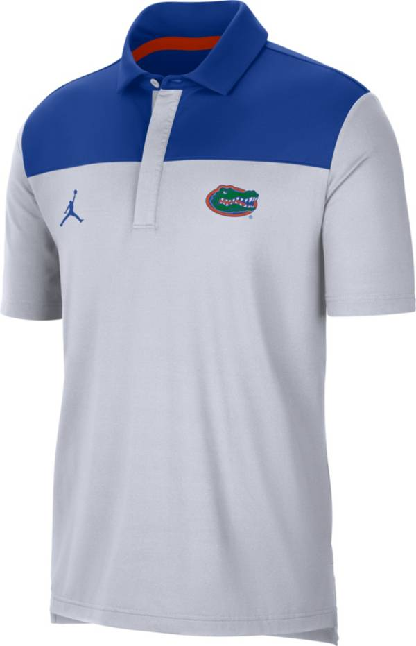 Jordan Men's Florida Gators Elevated Team Issue White Polo product image