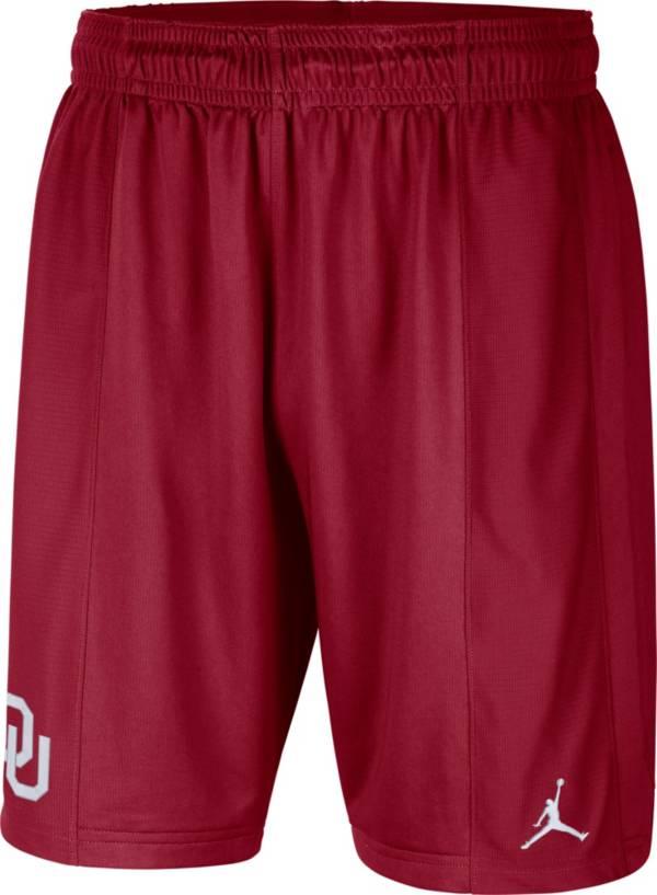 Jordan Men's Oklahoma Sooners Crimson Football Team Issue Dri-FIT Shorts product image