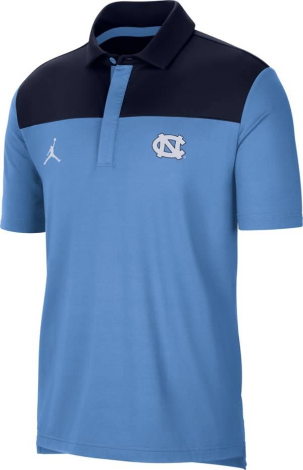 Jordan Men's North Carolina Tar Heels Carolina Blue Elevated Team Issue Polo product image