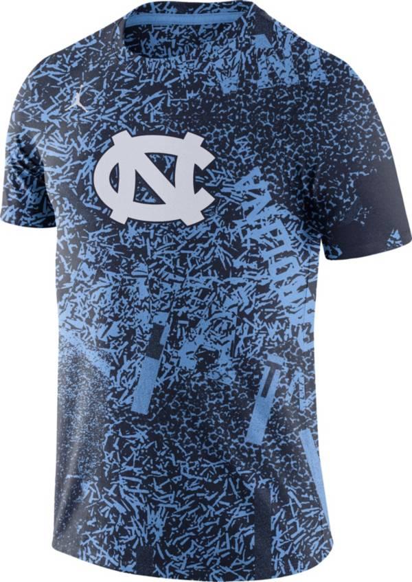 Jordan Men's North Carolina Tar Heels Carolina Blue Football Team Issue Practice T-Shirt product image