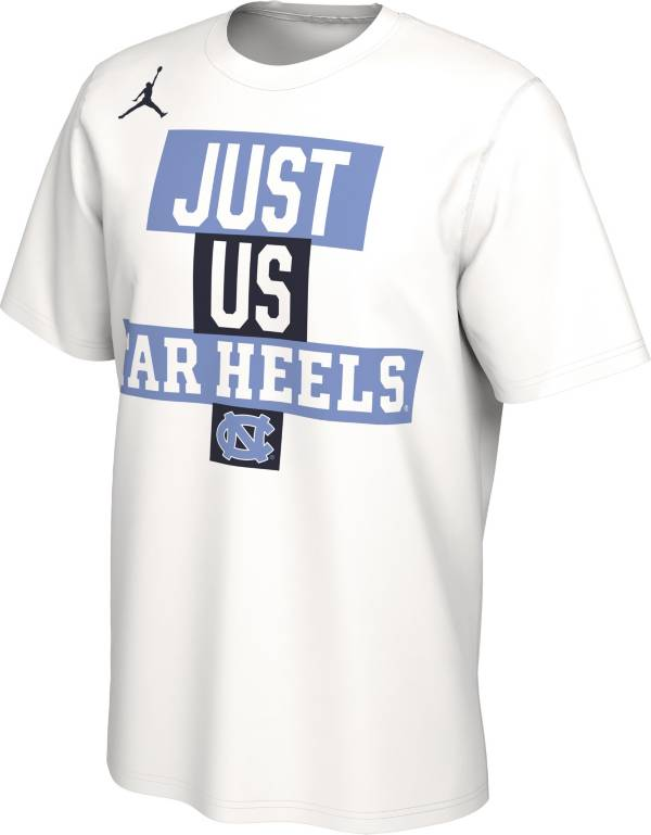 Jordan Men's North Carolina Tar Heels 'Just Us' Bench T-Shirt product image