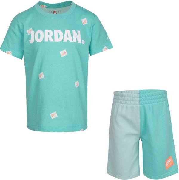 Jordan Little Boys' Jumpman Box All Over Print T-Shirt and Shorts Set product image