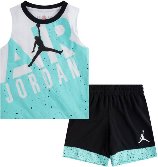 Jordan Little Boys' Air Jordan Muscle Tank Top and Shorts Set product image