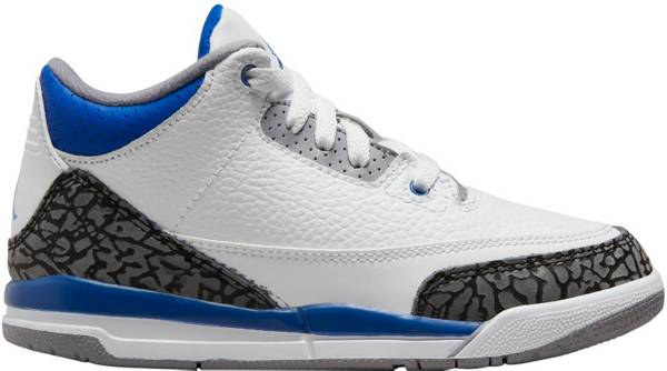 Jordan Kids' Preschool Air Jordan 3 Retro Basketball Shoes product image
