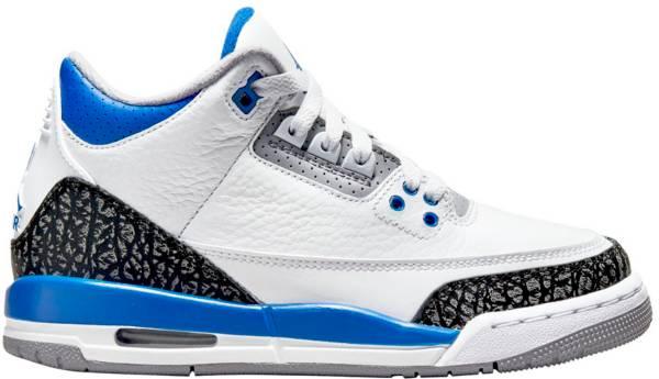Jordan Kids' Grade School Air Jordan 3 Retro Basketball Shoes product image
