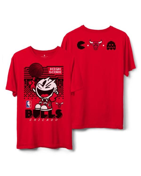 JUNK Men's Chicago Bulls Pac Man T-Shirt product image