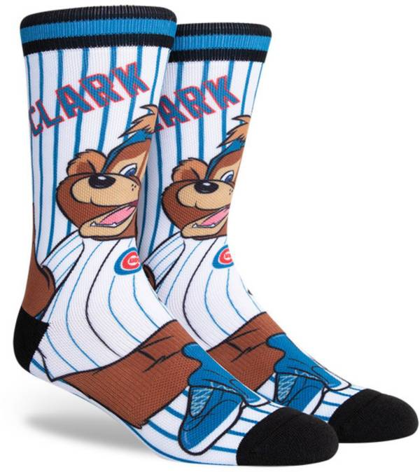 PKWY Chicago Cubs Black Mascot Crew Socks product image