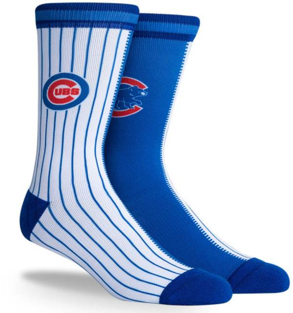 PKWY Chicago Cubs Blue Split Crew Socks product image