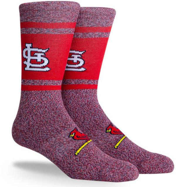 PKWY St. Louis Cardinals Red Varsity Crew Socks product image