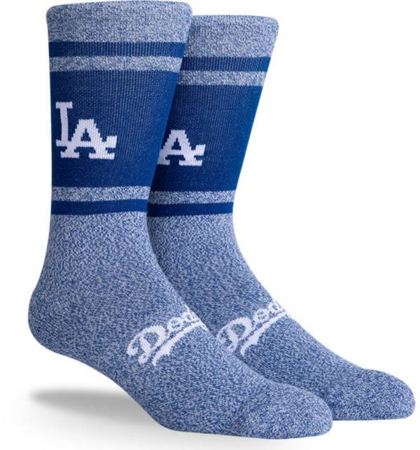 PKWY Los Angeles Dodgers Blue Varsity Crew Socks product image