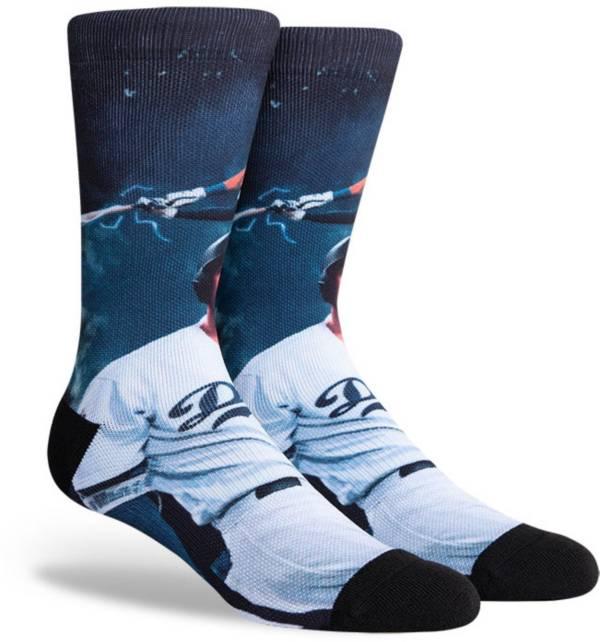 PKWY Los Angeles Dodgers Black Mookie Betts #50 Crew Socks product image