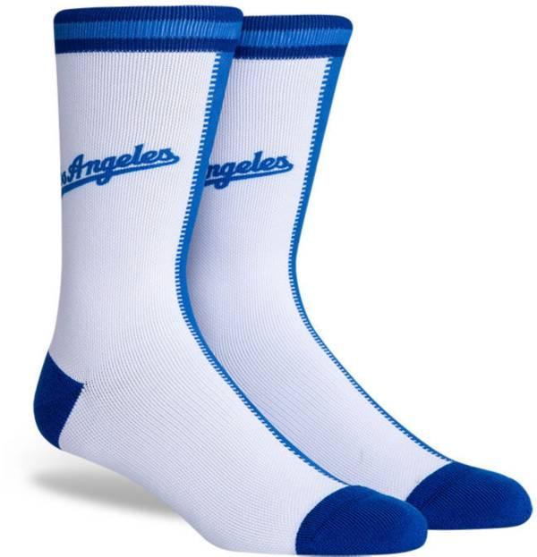 PKWY Los Angeles Dodgers Blue Split Crew Socks product image