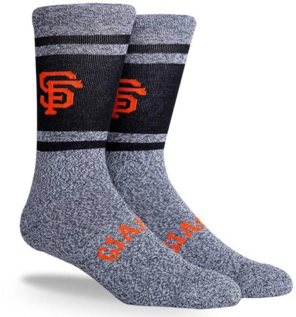 PKWY San Francisco Giants Black Varsity Crew Socks product image