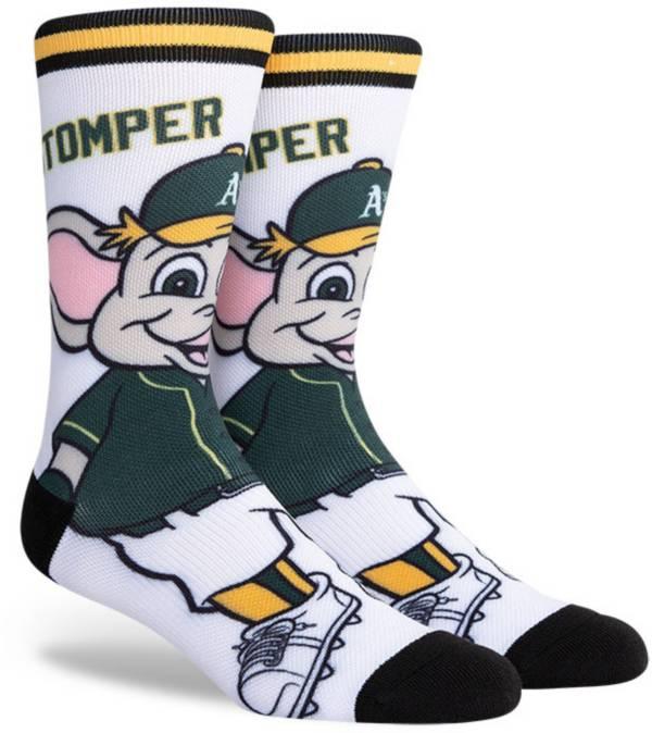 PKWY Oakland Athletics Black Mascot Crew Socks product image
