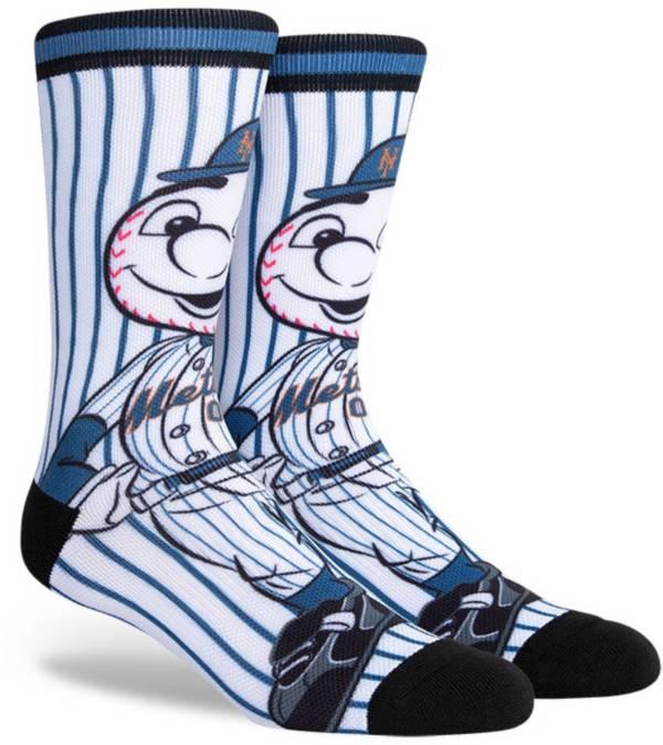 PKWY New York Mets Black Mascot Crew Socks product image