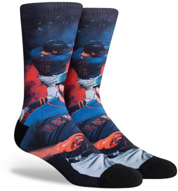 PKWY New York Mets Black Pete Alonso #20 Crew Socks product image