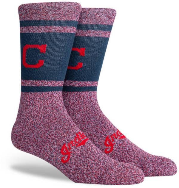 PKWY Cleveland Indians Blue Varsity Crew Socks product image