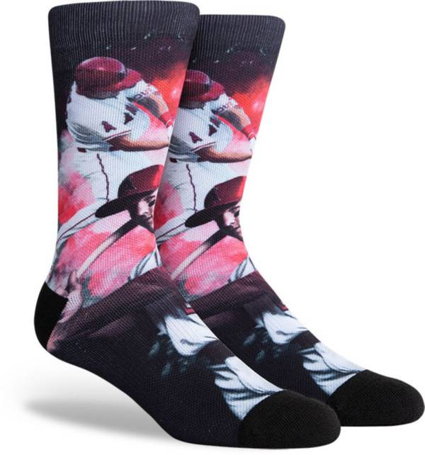 PKWY Los Angeles Angels Black Mike Trout #27 Crew Socks product image