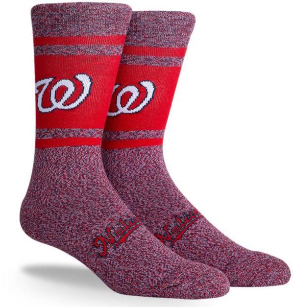 PKWY Washington Nationals Red Varsity Crew Socks product image
