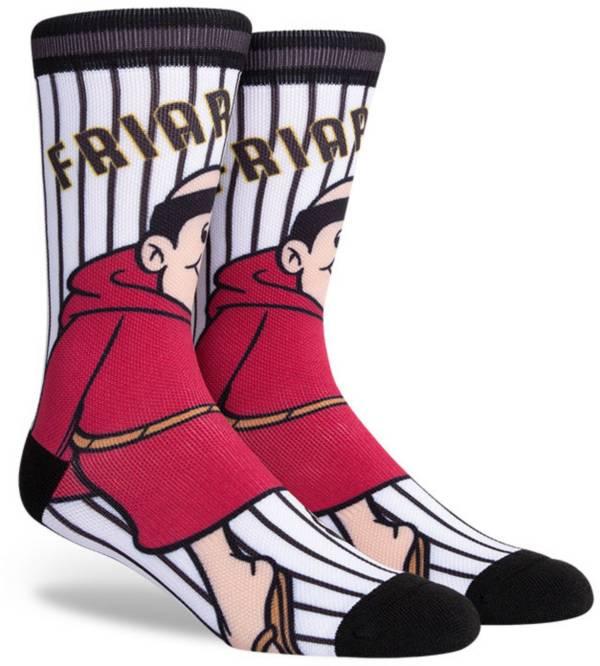 PKWY San Diego Padres Black Mascot Crew Socks product image