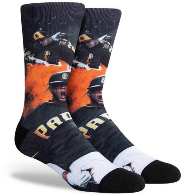 PKWY San Diego Padres Black Fernando Tatis Jr. Crew Socks product image