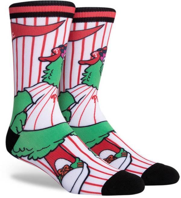PKWY Philadelphia Phillies Black Mascot Crew Socks product image