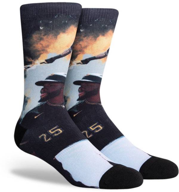PKWY Pittsburgh Pirates Black Gregory Polanco #25 Crew Socks product image