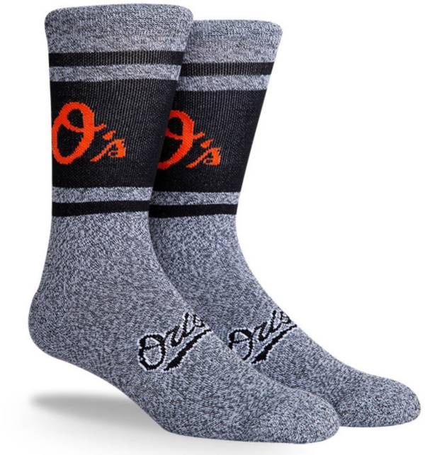 PKWY Baltimore Orioles Black Varsity Crew Socks product image