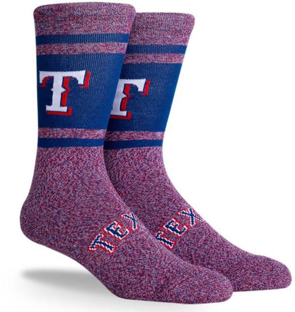 PKWY Texas Rangers Blue Varsity Crew Socks product image