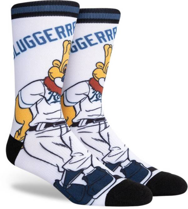 PKWY Kansas City Royals Black Mascot Crew Socks product image