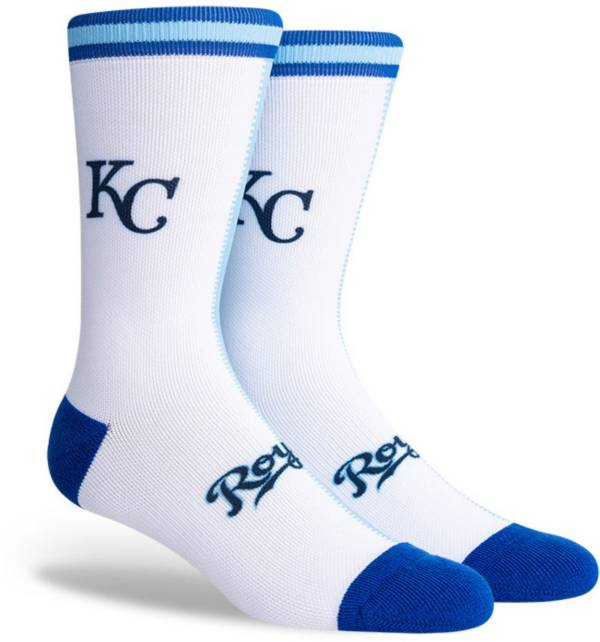 PKWY Kansas City Royals Blue Split Crew Socks product image