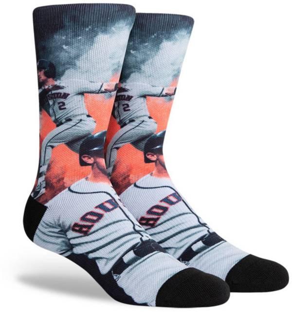 PKWY Houston Astros Black Alex Bregman #2 Crew Socks product image