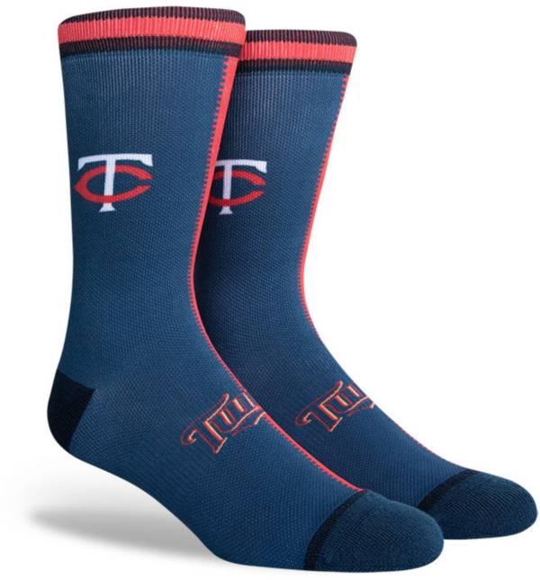 PKWY Minnesota Twins Blue Split Crew Socks product image
