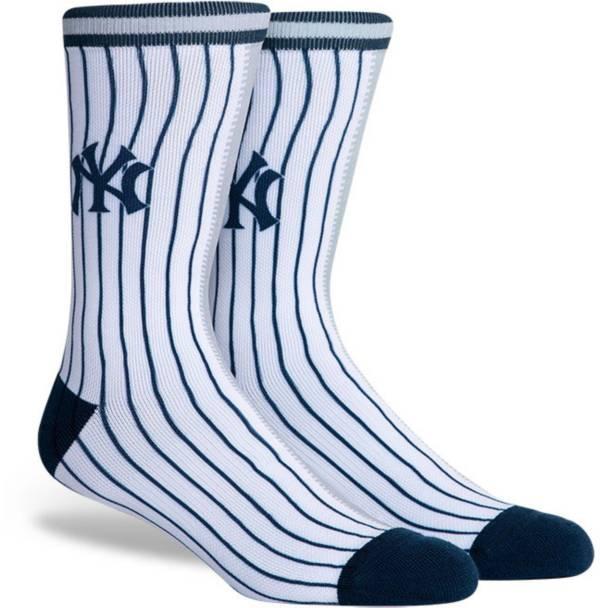 PKWY New York Yankees Blue Split Crew Socks product image