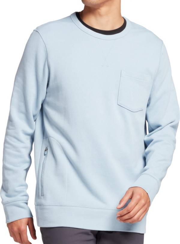 VRST Men's Lux French Terry Crewneck Pullover product image