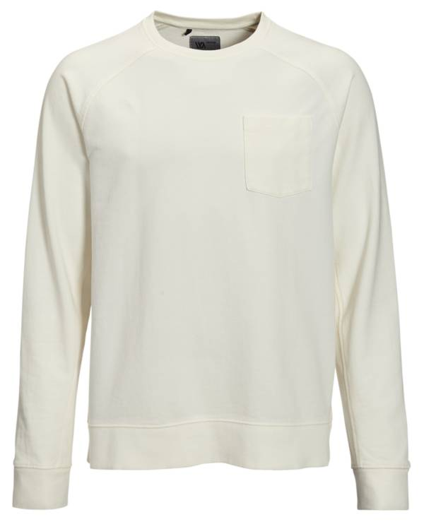 VRST Men's Washed Twill Terry Crewneck Pullover product image