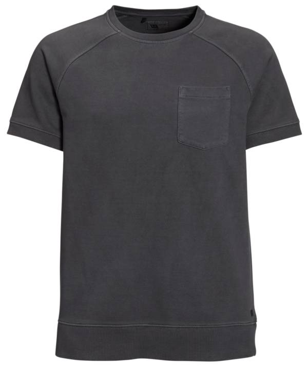 VRST Men's Washed Twill Terry Short Sleeve Crewneck Pullover product image