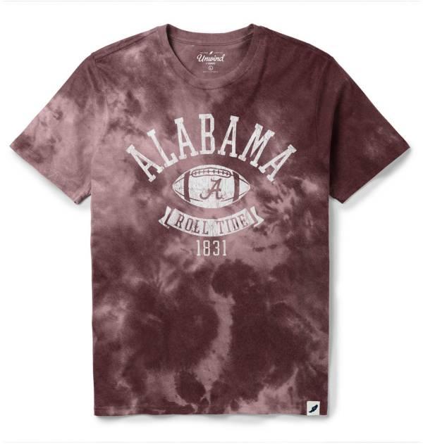 League-Legacy Men's Alabama Crimson Tide Crimson Tie Dye T-Shirt product image