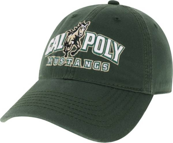 League-Legacy Men's Cal Poly Mustangs Green EZA Adjustable Hat product image
