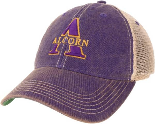 League-Legacy Men's Alcorn State Braves Purple OFA Trucker Hat product image