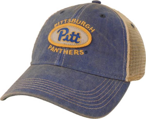League-Legacy Men's Pitt Panthers Blue Old Favorite Trucker Adjustable Hat product image