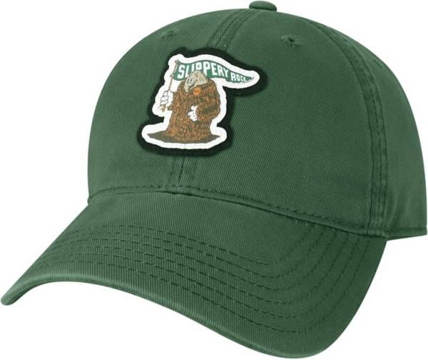 League-Legacy Men's Slippery Rock University Green EZA Adjustable Hat product image