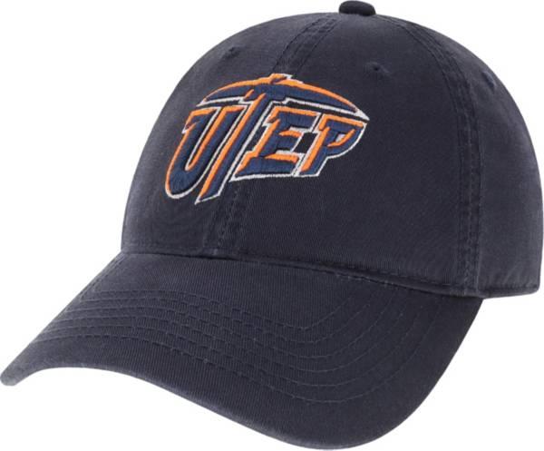 League-Legacy Men's UTEP Miners Navy EZA Adjustable Hat product image