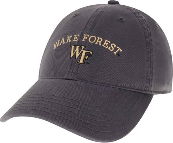 League-Legacy Men's Wake Forest Demon Deacons Grey EZA Adjustable Hat product image